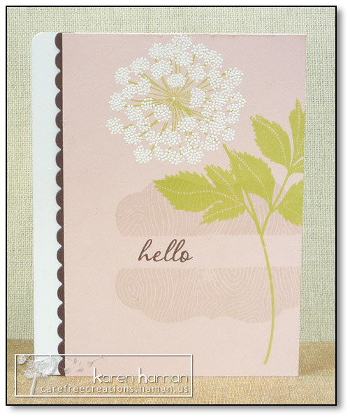 by karen @ carefree creations - Hello