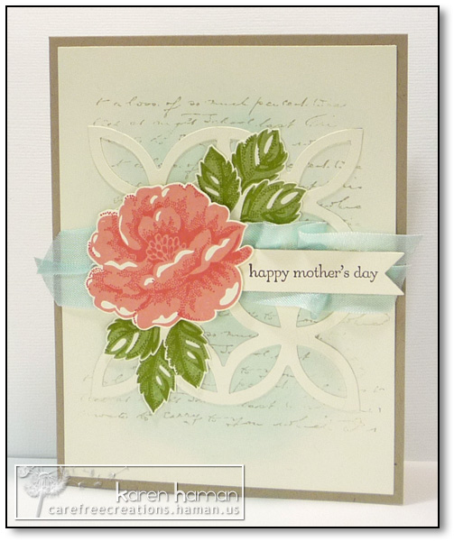 by karen @ carefree creations - Shabby Rose