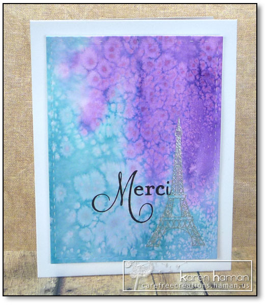 by karen @ carefree creations - Merci French Teacher