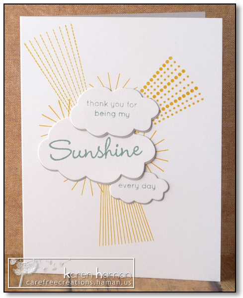 My Sunshine - by karen @ carefree creations