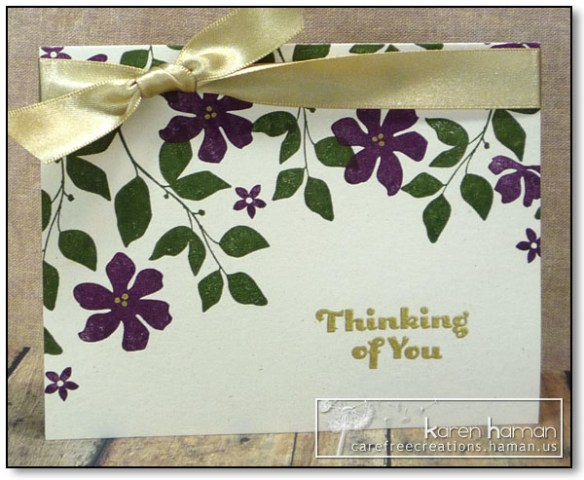 Thinking of You - by karen @ carefree creations