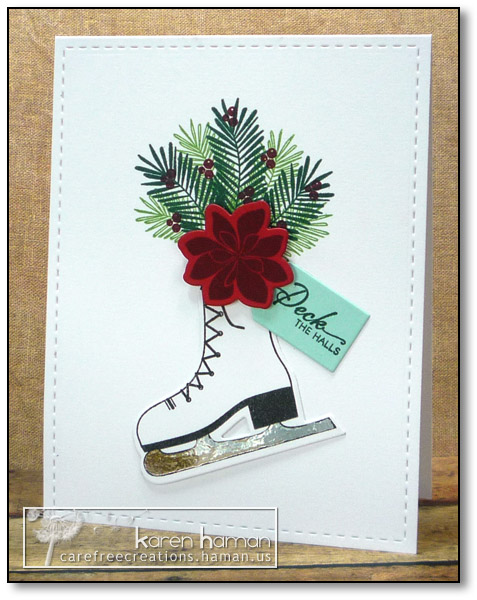 Ice Skate | by karen @ carefree creations