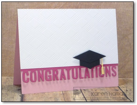 Pink Graduation | by karen @ carefree creations