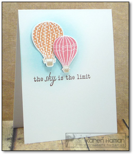 Sky's the Limit | by karen @ carefree creations