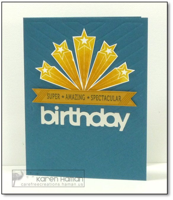 Super Star BDay | by karen @ carefree creations
