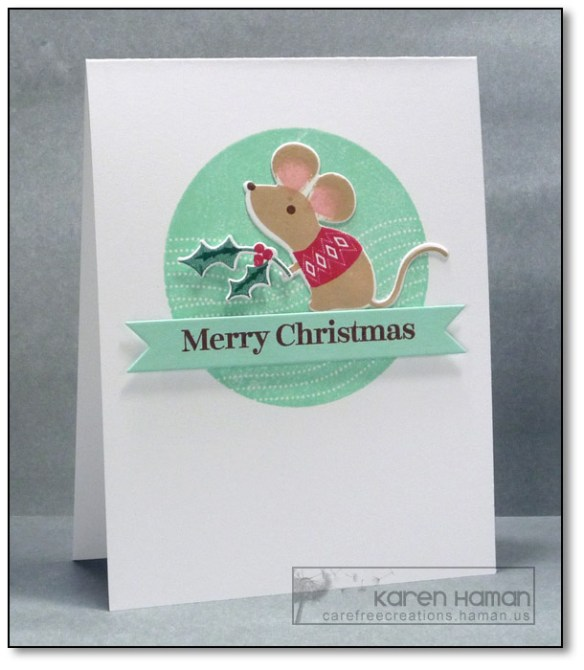 Merry Mouse | by karen @ carefree creations