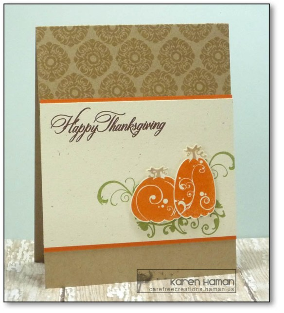 Elegant Thanksgiving | by karen @ carefree creations
