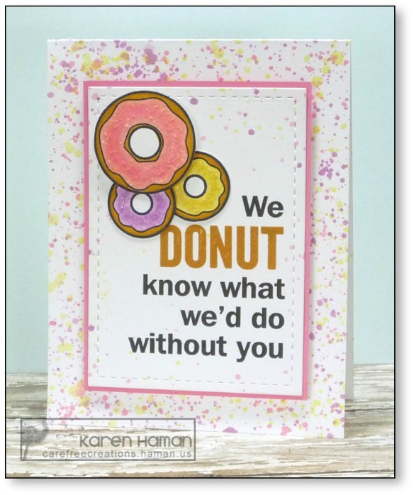 Donut Without You | by karen @ carefree creations
