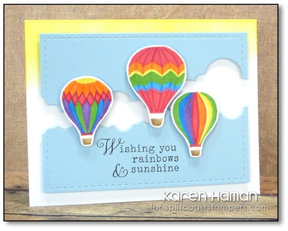 Rainbows & Sunshine | by karen @ carefree creations