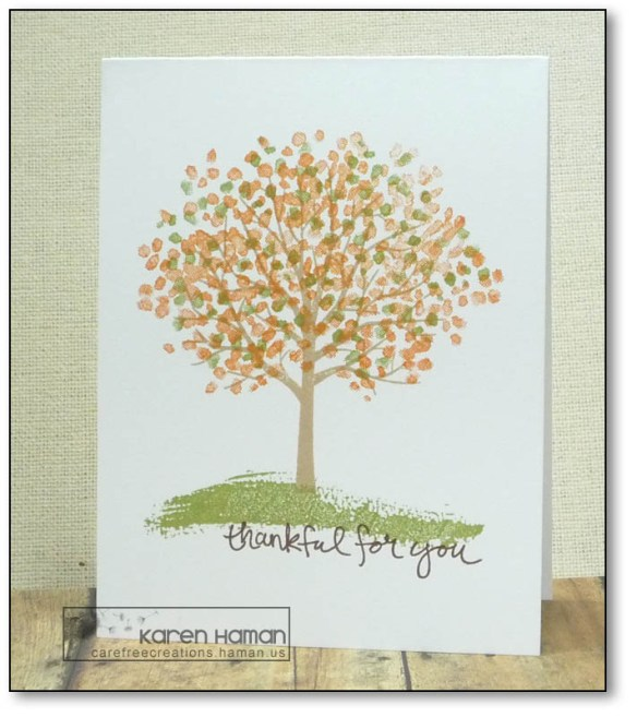 Thankful for You | by karen @ carefree creations