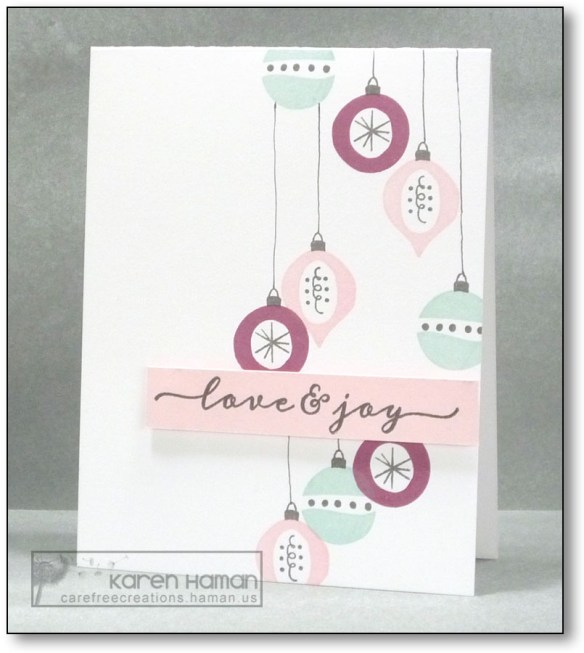 Love & Joy | by karen @ carefree creations