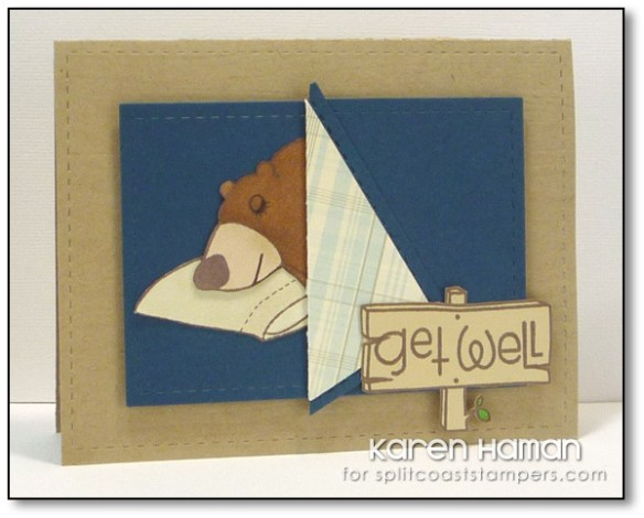 Get Well Bear | by karen @ carefree creations