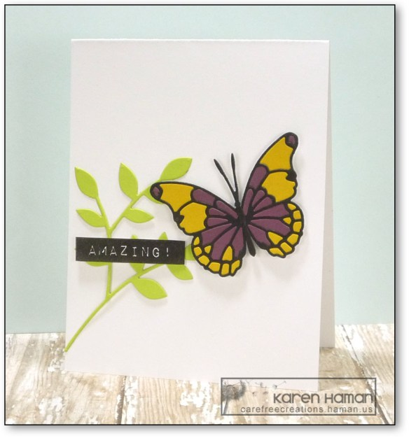 Amazing Butterfly   by karen @ carefree creations