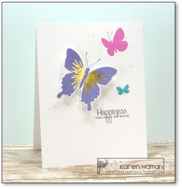 Butterfly Happiness | by karen @ carefree creations