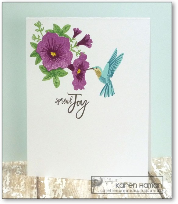 Spread Joy | by karen @ carefree creations