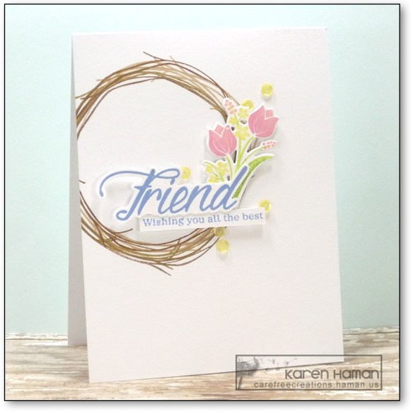 Friend   by karen @ carefree creations
