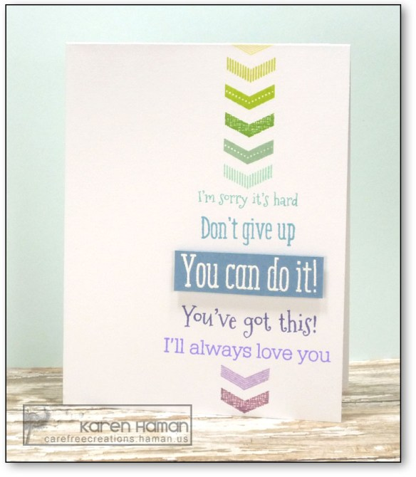 You can do it! | by karen h @ carefree creations