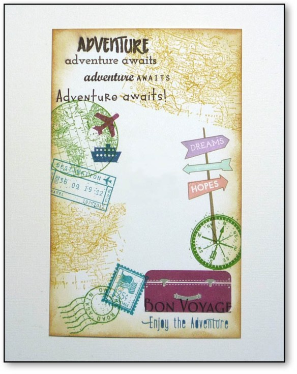 Adventure Awaits | by karen h @ carefree creations