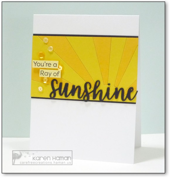 You Are a Ray of Sunshine | by karen h @ carefree creations