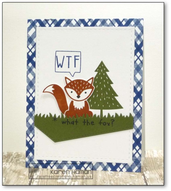 What the Fox | by karen h @ carefree creations
