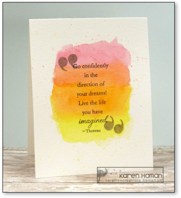 Encouragement | by karen h @ carefree creations