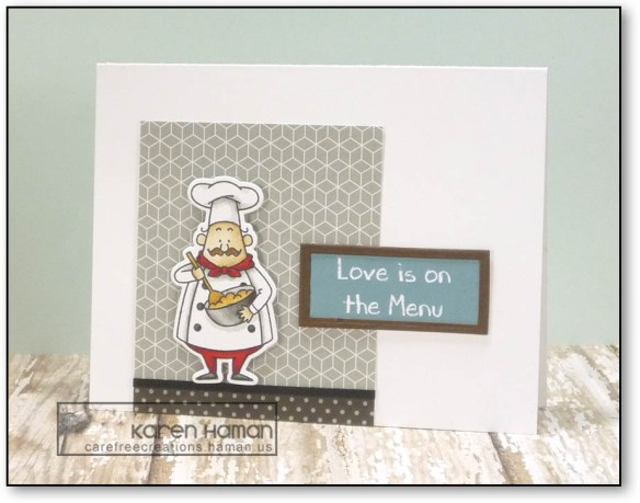 Love is on the Menu | by karen h @ carefree creations