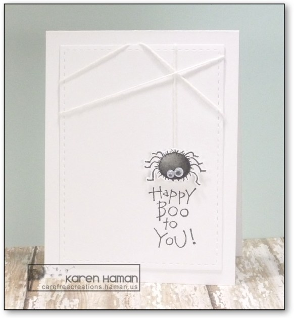 Happy Boo   by karen h @ carefree creations
