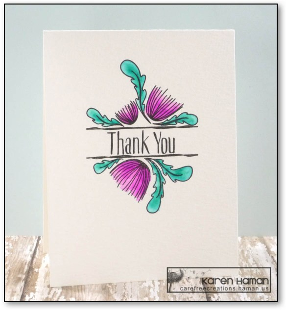 Thank You   by karen h @ carefree creations