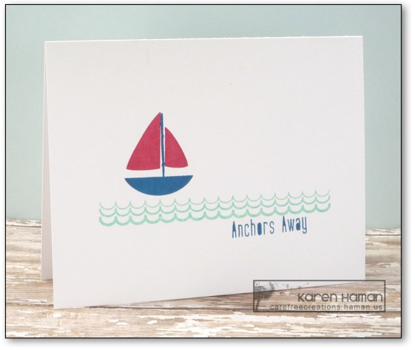 Anchors Away | by karen h @ carefree creations