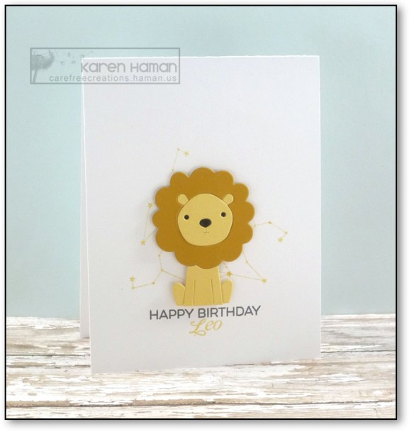 Birthday Leo | by karen h @ carefree creations