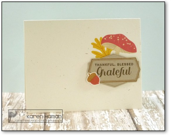 Grateful | by karen h @ carefree creations