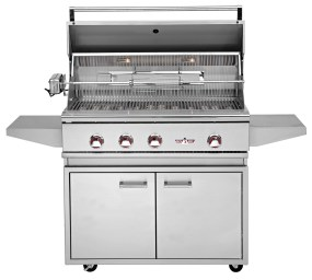 Delta Heat outdoor kitchens and bbq grills at Carefree Outdoor Living