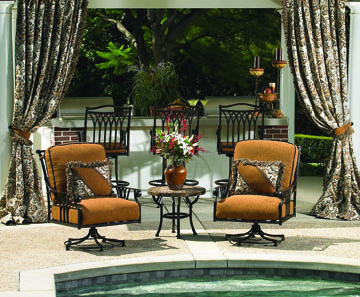 Montrachet outdoor furniture at Carefree Outdoor Living