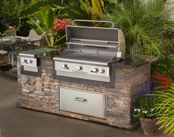 AOG outdoor kitchens and bbq grills at Carefree Outdoor Living