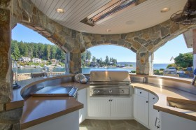 barbecue-area-with-propane-outdoor-grills-patio-beach-style-and-marble-counter-6