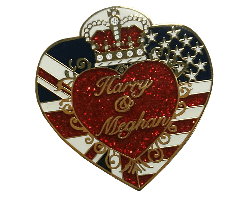 Now Available – Exclusive Commemorative Royal Wedding Pin!