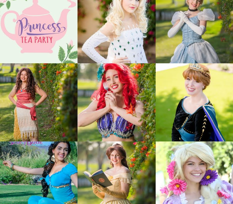 Princess Tea Party, June 2020