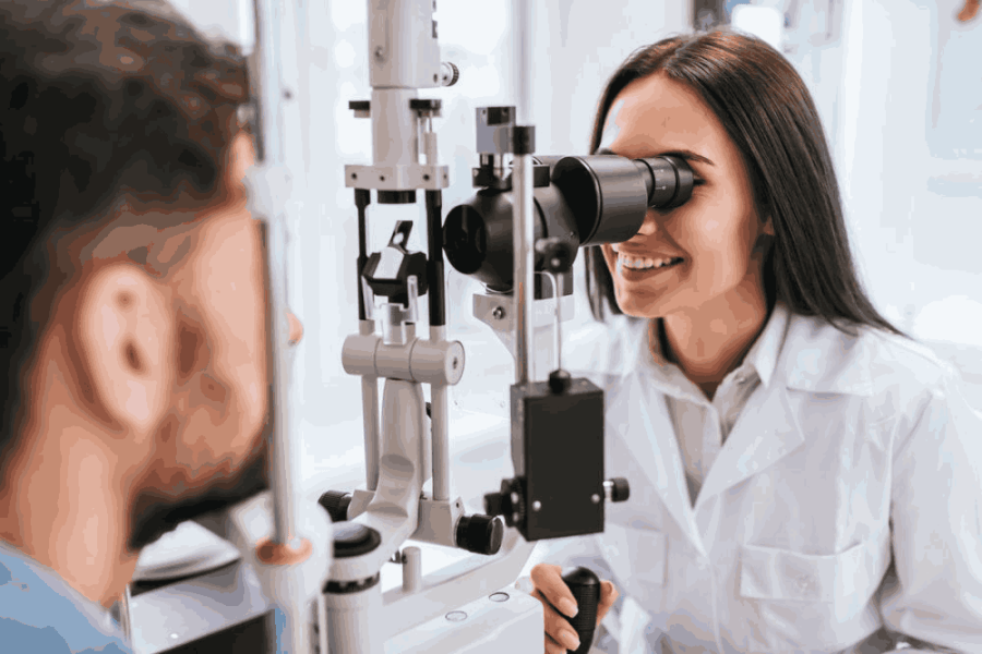 Qualities found in ophthalmologist