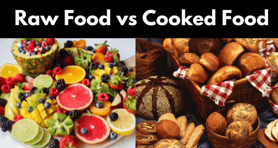 Raw Food vs Cooked Food