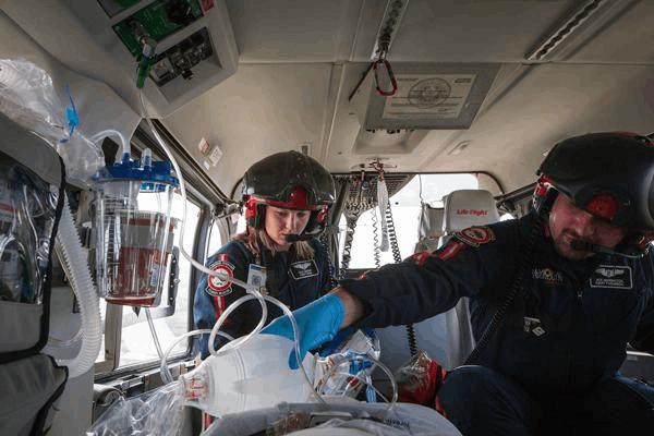 Step 1: Understand the duty of Flight Nurse