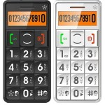 Cell Phone Designed for Senior Citizens Includes an Emergency Response System!