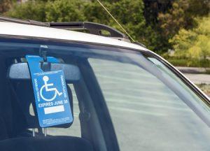 Handicap Parking Placard