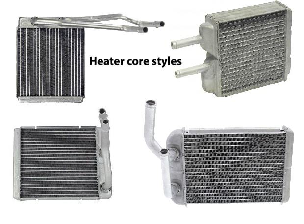 Stuck up heater core tubes