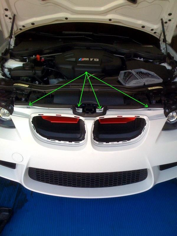 How to Install Fog Light Removing the front bumper of your car