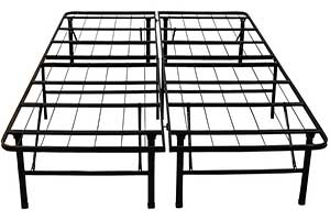 Classic Brands Hercules Heavy Duty Metal Bed Frame for heavy couple