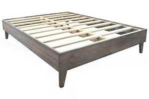 E Luxury Supply Heavy Duty Platform Bed Frame