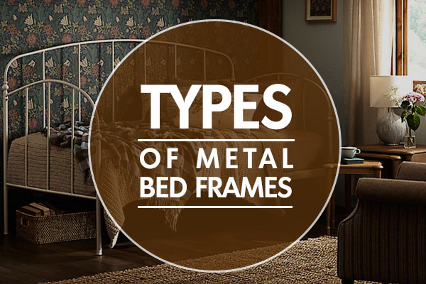 types of metal bed frames