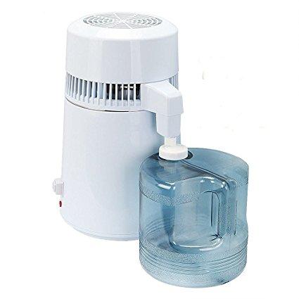 Hot 4L Pure Water Distiller Stainless Steel Water Purifier