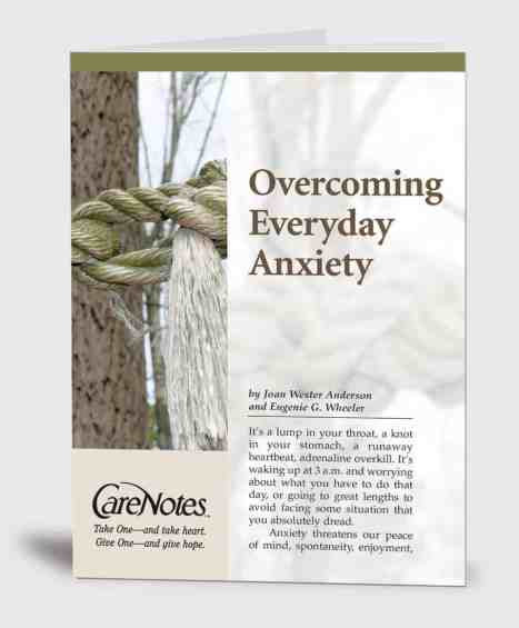 Overcoming Everyday Anxiety