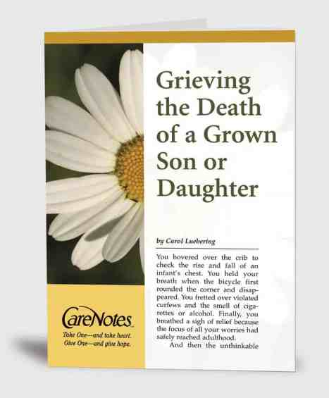 Grieving the Death of a Grown Son or Daughter